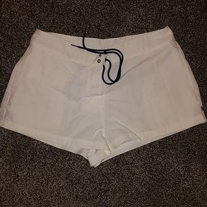 Nautica white shorts size medium